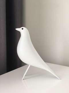 White decor Bird
