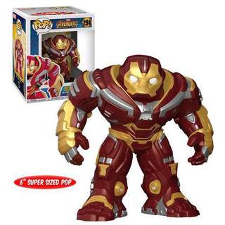 FREE Flying Iron Man with Pre Order Funko Pop Avengers Infinity War HulkBuster Super Sized 6""