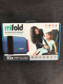 Bnib Mifold the Grab and go booster seat.