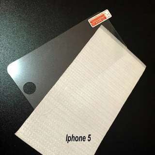Tempered Glass Iphone 5 Bening