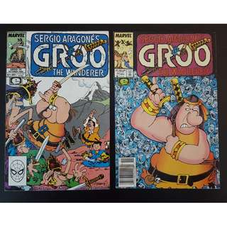 Groo the Wanderer #70,#71 (1990 Marvel)- Set of 2, By Sergio Aragones!