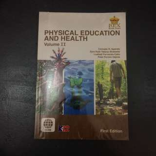 Physical Education and Health Volume 2 for Senior High School