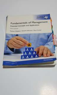 Fundamentals of Management textbook