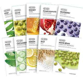 THE FACE SHOP Real Nature Face Mask each RM4