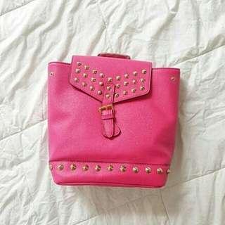 Trina Turk Studded Bucket Backpack