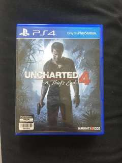 Unchartered 4 PlayStation 4 PS4