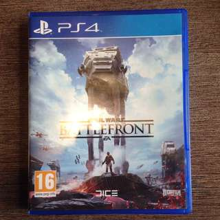 Jual kaset star wars battlefront ps4