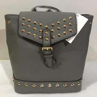 Trina Turk Studded Bucket Backpack