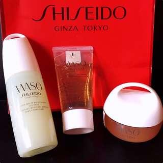 Shiseido Waso skincare set