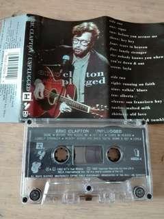 Eric Clapton Unplugged Cassette