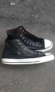 Converse high leather
