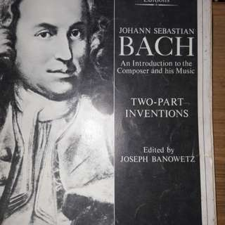 Bach 2- part inventions.