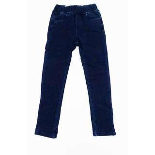 Ankle length denim leggings