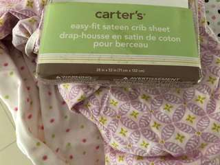 Carters fitted cot sheet