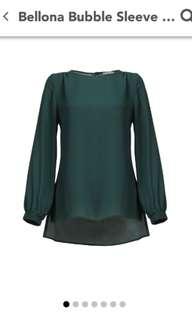POPLOOK Bellona Bubble Sleeve Top