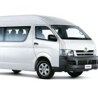 Looking for Hiace Drivers for a Event 24 till 29 Apr