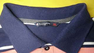 Champion polo shirt stripes