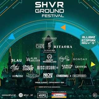 Tiket konser SHVR rita ora, disclosure, cash cash