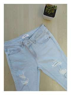 F21 Ripped Jeans