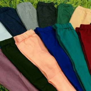 Leggings kids plain