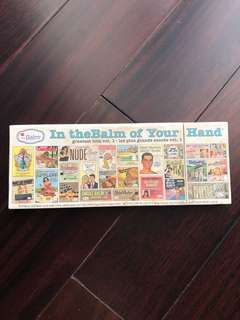 In the balm of your hand THEBALM