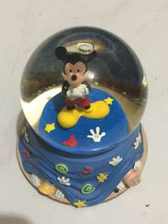 Mickey mouse globe