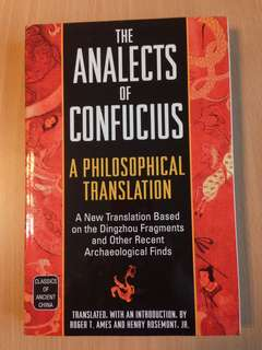 The Analects of Confucius A Philosophical Translation