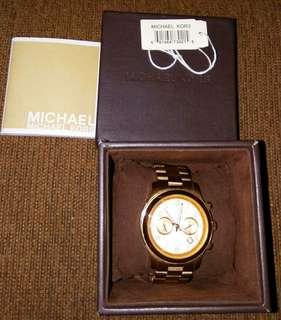Authentic Rose Gold Michael Kors