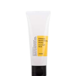 COSRX ULTIMATE MOISTURIZING HONEY OVERNIGHT MASK ( Anti Swell)