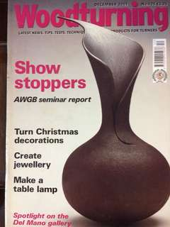 Woodturnig 2001 Dec no.106