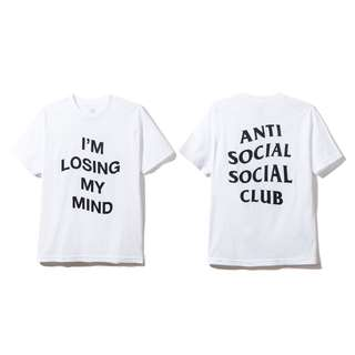🎉現貨 Anti Social Social Club I'm losing my mind Tee ASSC 美國公司貨 保證真品