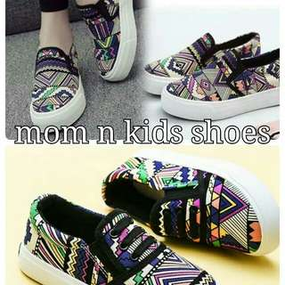 Mommy and kids shoes