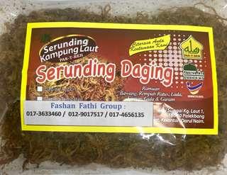 Serunding Daging Kg Laut Kelantan