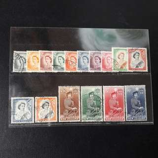 New Zealand 1953 - 1959 Stamps