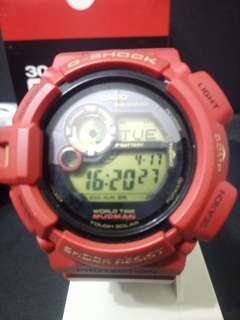 G-SHOCK MUDMAN RISING RED 30TH ANNIVERSARY