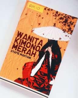 Wanita Kimono Merah by Syafie Mahyani