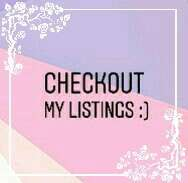 Come & Checkout My Listings :)
