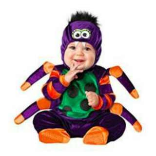 InCharacter Baby Itsy Bitsy Spider Costume