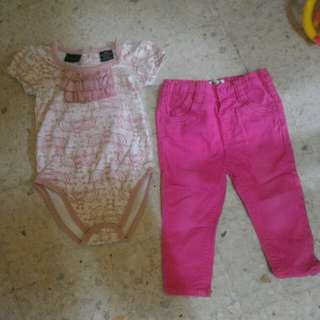 Girls Romper & Pants