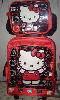Hello Kitty Trolley Bag