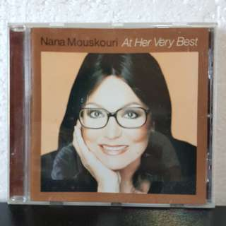 CD》Nana Mouskouri At Her Very Best