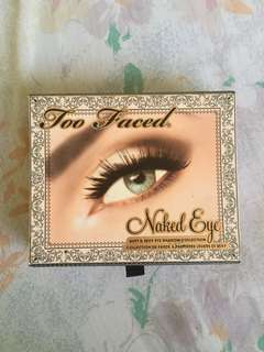 Authentic Too Faced Naked Eye Eyeshadow Pallete