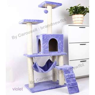 Cat condo cat tree house