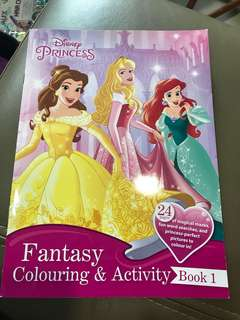 Disney Princess Colouring and Activity Book