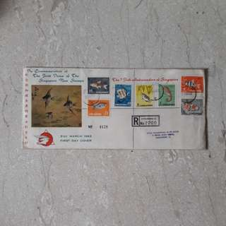 Singapore 1962 First Day Cover