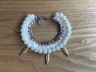 Daydream Nation Feather Bracelet