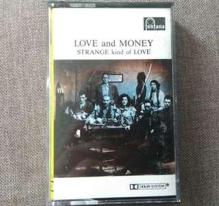 arthcs LOVE AND MONEY Strange Kind Of Love Cassette Tape