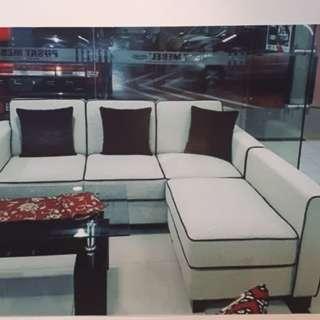 Promo DP 0% Sofa L Minimalis
