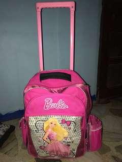 Barbie trolley bag