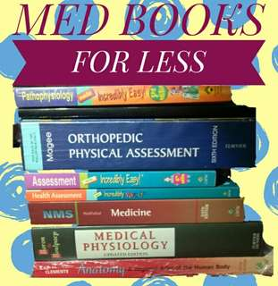 MED BOOKS CHEAP